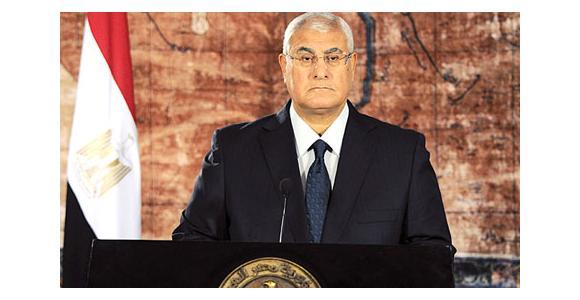 الرئيس عدلي منصور - المصدر: وكالة أسوشيتد برس