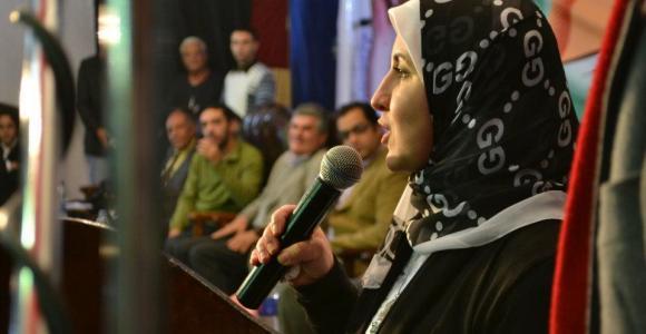 د.نهي الشرقاوي - المؤتمر الختامي لقائمة الثورة مستمرة في المنصورة - 30 ديسمبر 2012