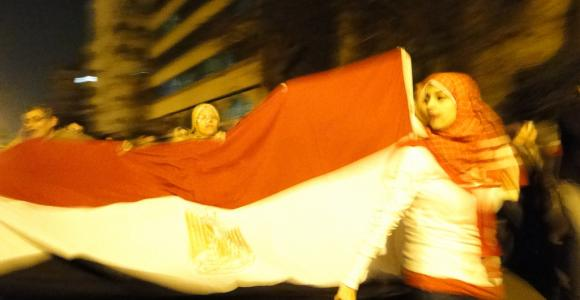 ميدان التحرير 11 فبراير 2011 - تصوير: رامي رؤوف